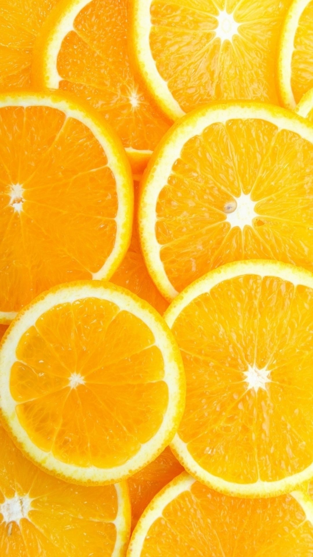 Fruit Orange Slice Overlap Background iPhone 6 plus wallpaper 1080x1920