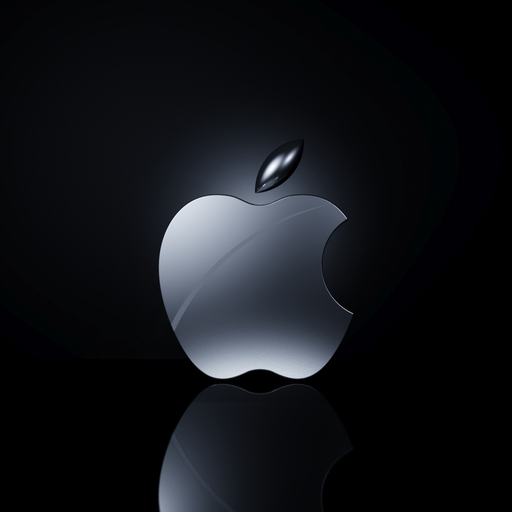Ipad wallpapers apple logo   Android Up2date 1024x1024