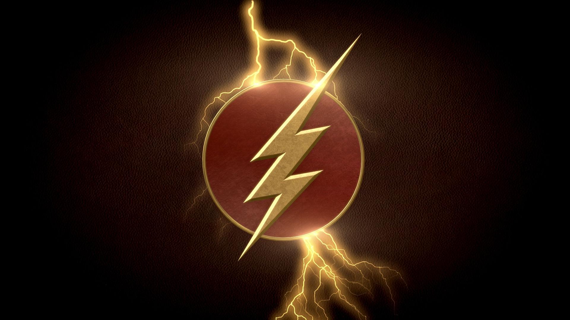The Flash TV Series Logo HD Wallpaper 1920x1080