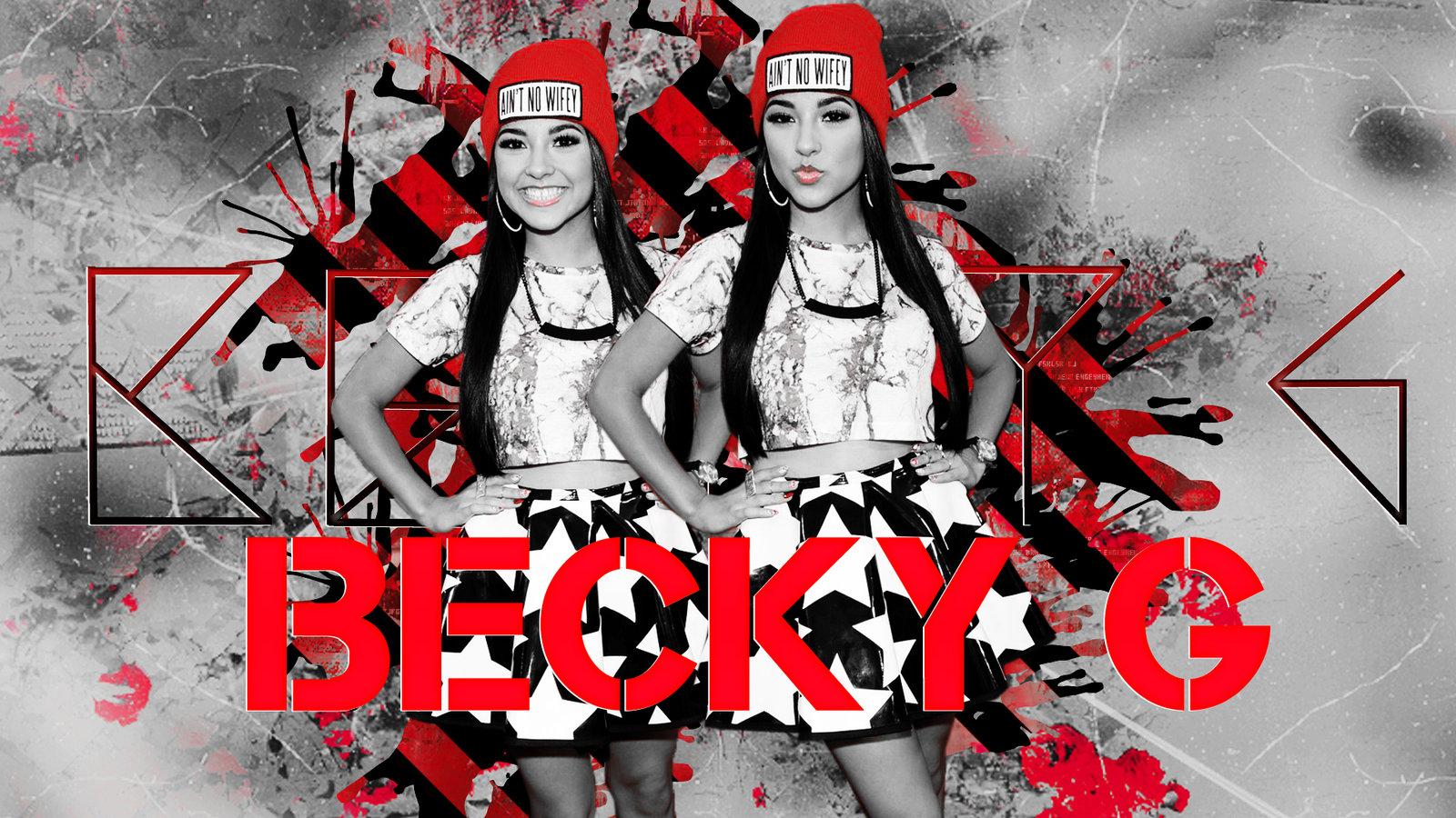 Wallpaper Becky G by LittleLolitaCute 1600x900