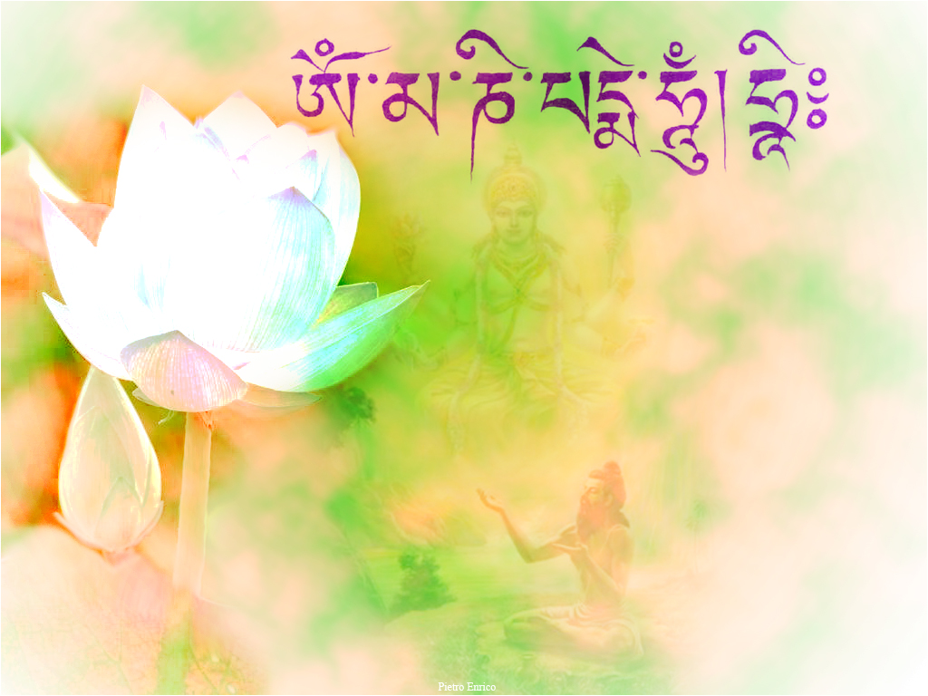 om mani padme hum by donaldc customization wallpaper other 2011 1024x768