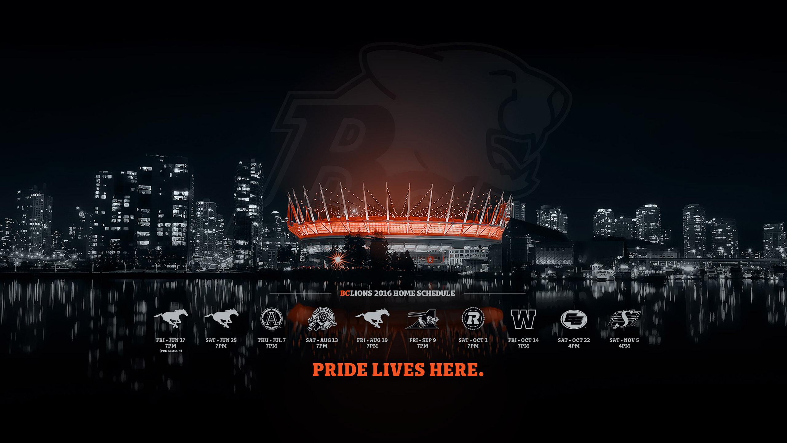 BC Lions Wallpaper   BC Lions 2560x1440