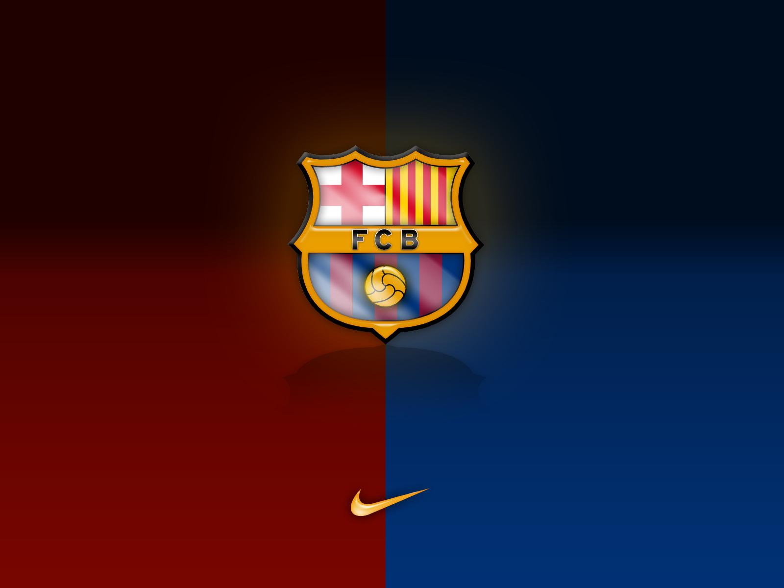 El logotipo o escudo del FCBarcelona para fondo escritorio Linea 1600x1200