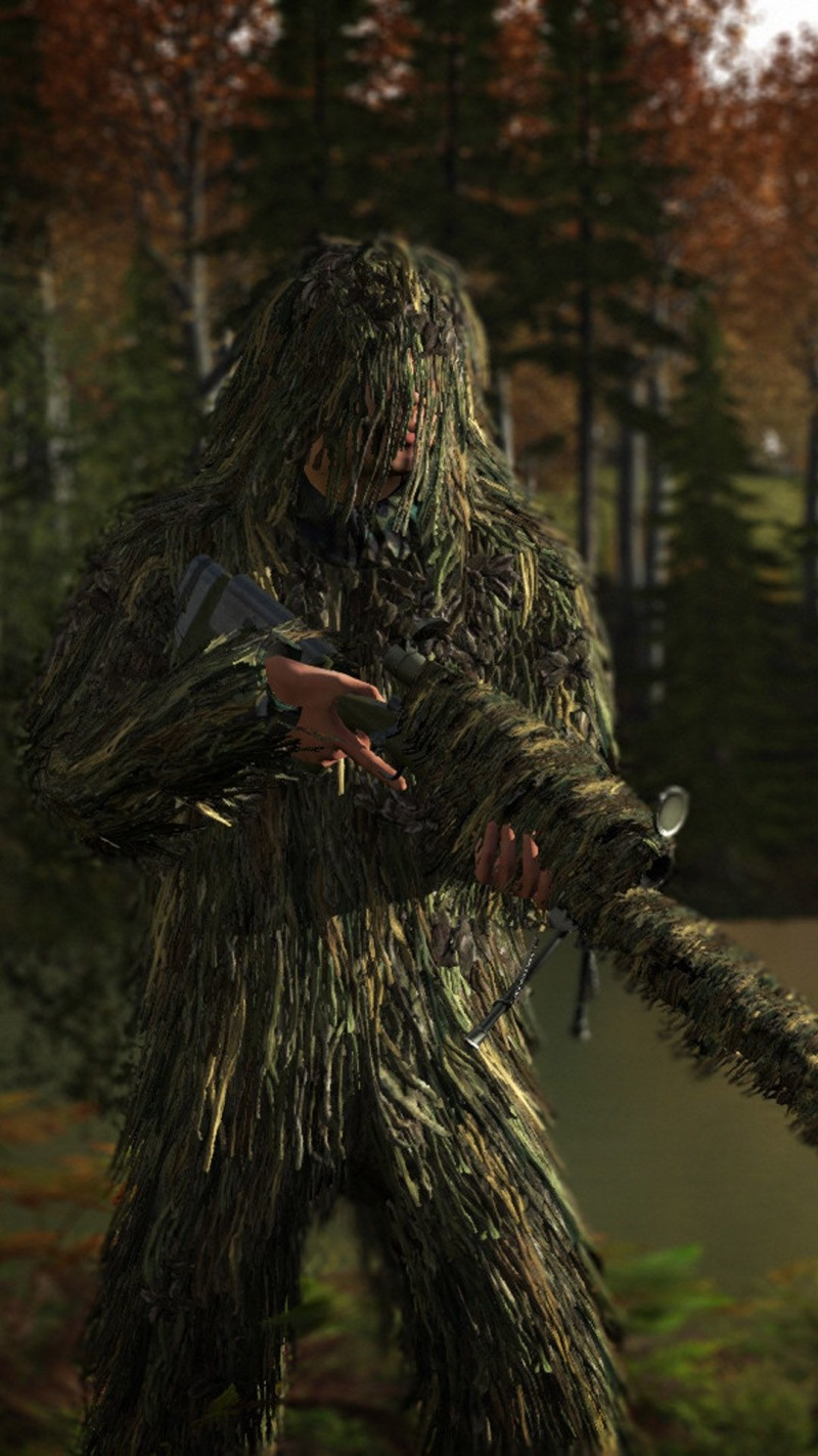 Free Download Ghillie Suit Playerunknowns Battlegrounds Pubg