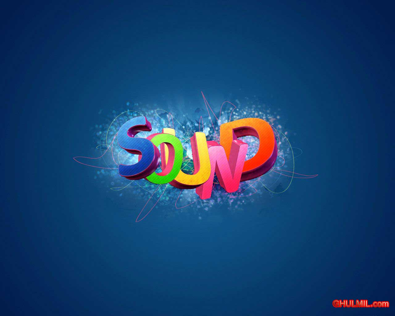 Wallpapers 3D Sound 1280x1024