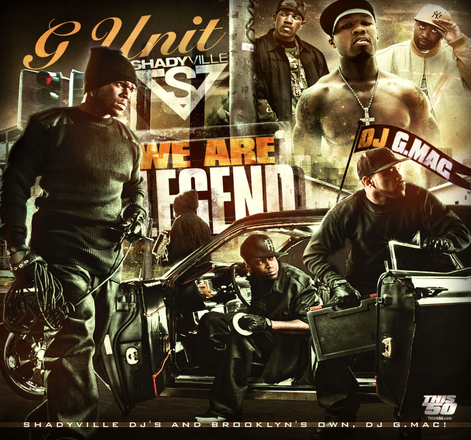 UNIT 50 CENT gangsta rap rapper hip hop unit cent poster h wallpaper 1500x1400