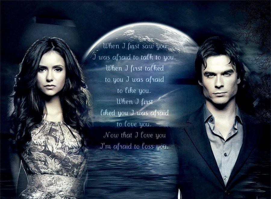 Damon and Elena by The VampireDiaries 900x664