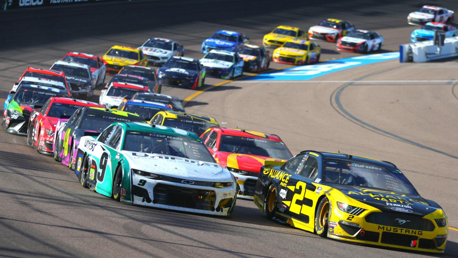 NASCAR Cup Brickyard 400 Beats PGA Tour and WWE SmackDown to Top 1600x900