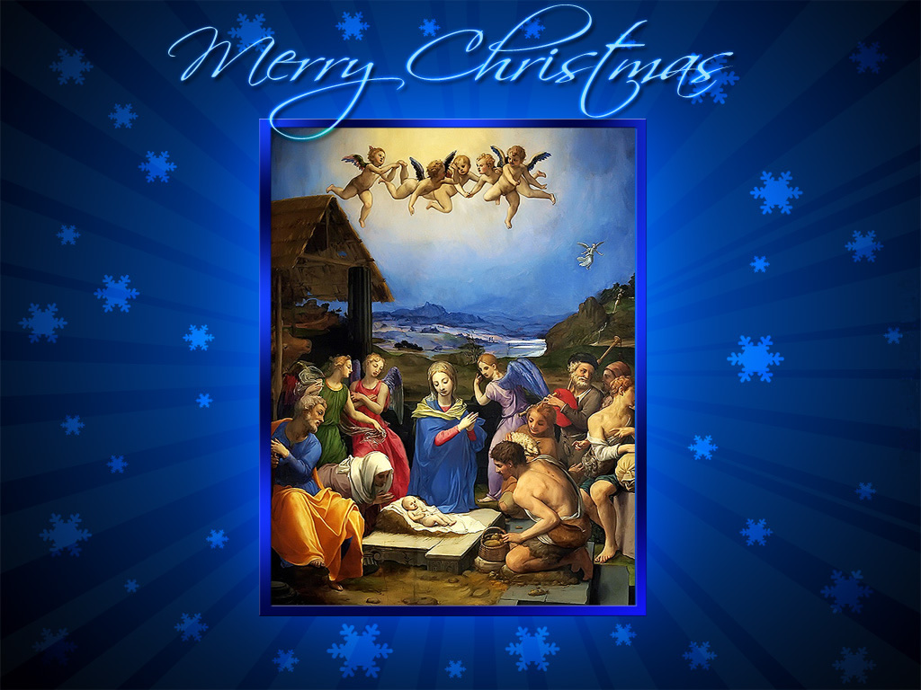 Jesus and Christmas   Merry Christmas Wallpaper   Christian Wallpapers 1024x768