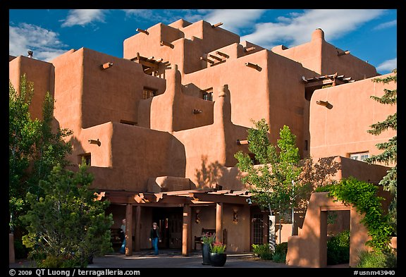 PicturePhoto Loreto Inn hotel Santa Fe New Mexico USA 576x393