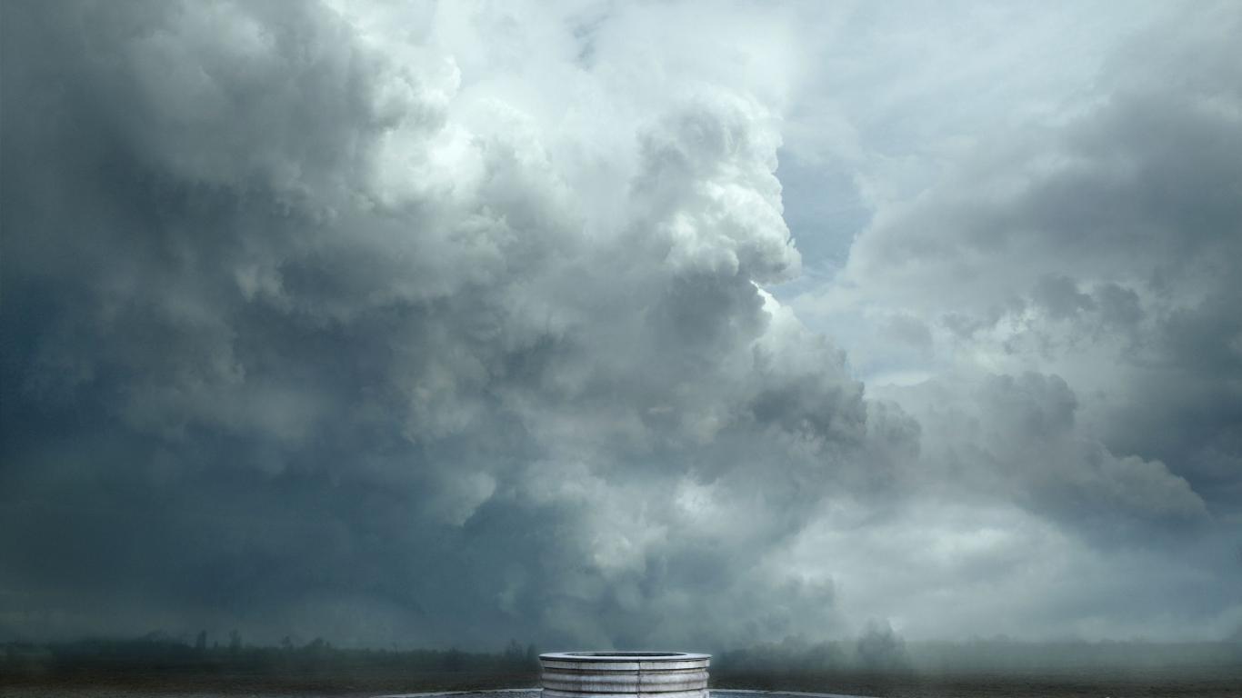 World skyscapes jrr tolkien dina wallpaper 55264 1366x768