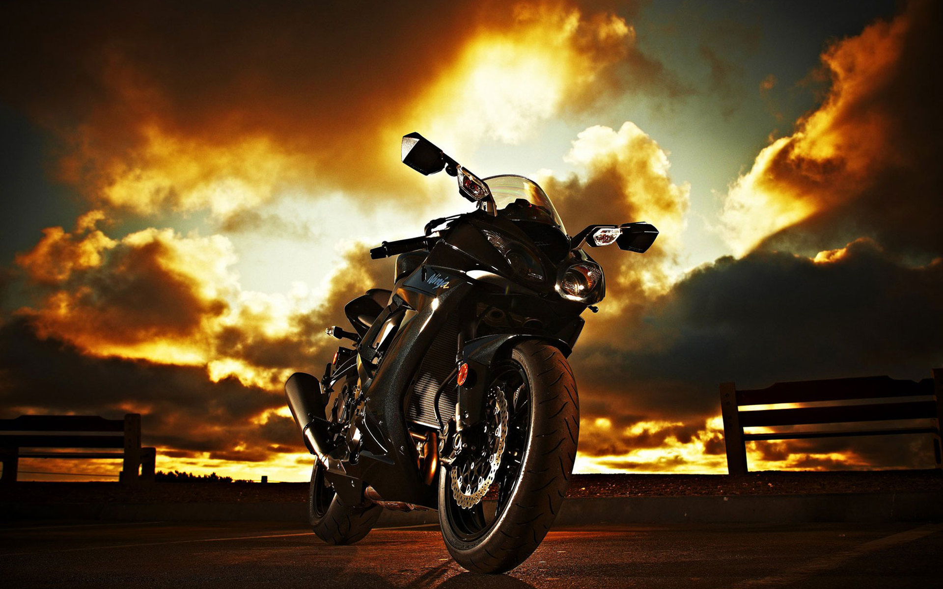 Kawasaki Backgrounds Ninja Wallpapers For Download 1920x1200