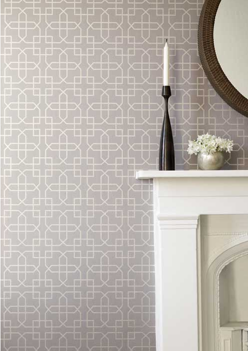 Siam Trellis wallpaper by Sanderson 498x703