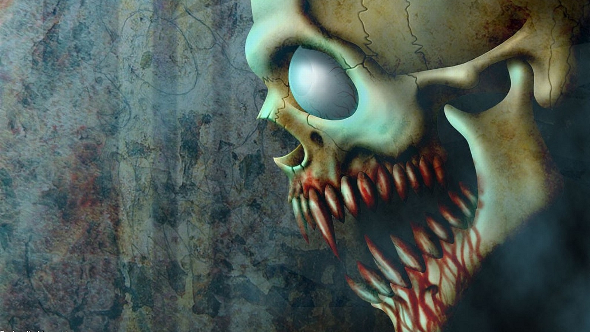 Evil Skull Wallpapers Hd Dark   skull wallpaper 1920x1080