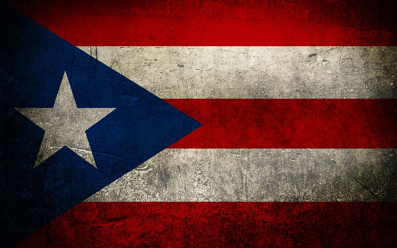 Puerto Rico Flag Grunge LA CHULETA CONGEL193 1440x900