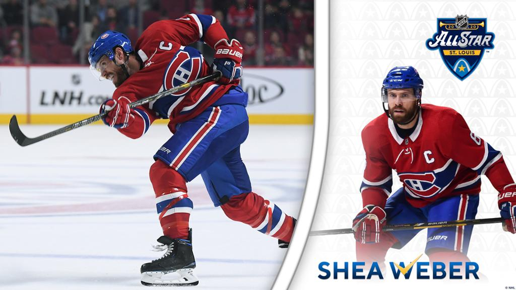 Shea Weber headed to the NHL All Star Game 1024x576