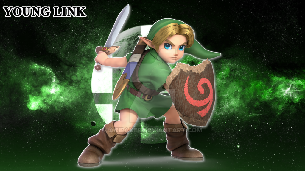 Smash Bros Ultimate Young Link   Wallpaper 4K by AkiraXer on 1024x576
