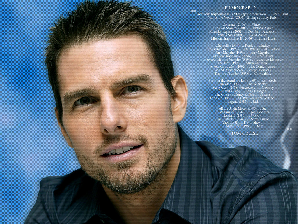 ALL ABOUT HOLLYWOOD STARS Tom Cruise Hollywood Superstar 1024x768