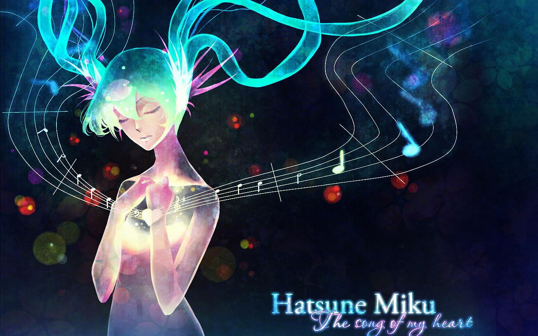 Miku Wallpaper by kaminary san on deviantART   Music Wallpaper 1440x900