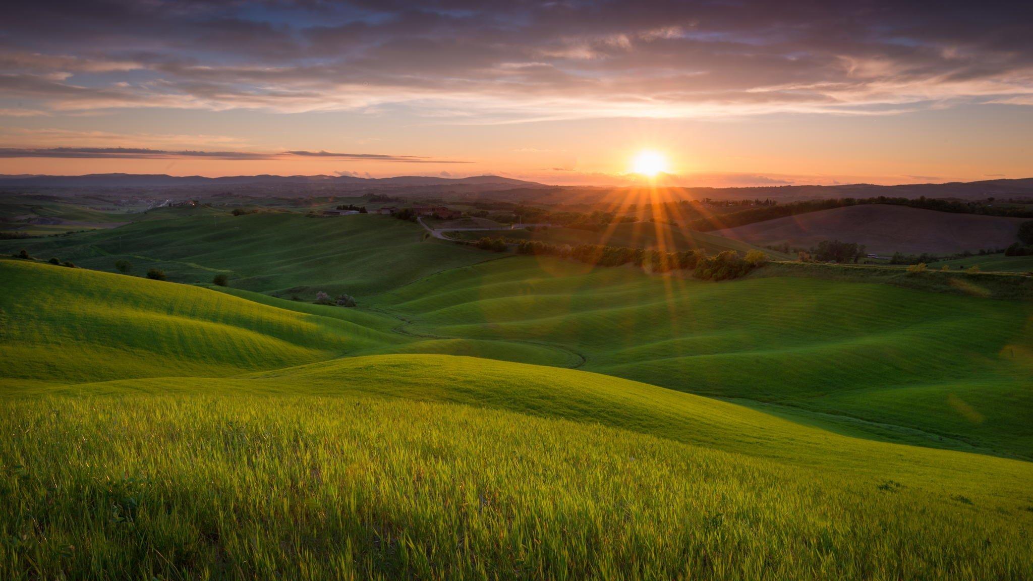 Wallpapersafari: Tuscany Italy Wallpaper