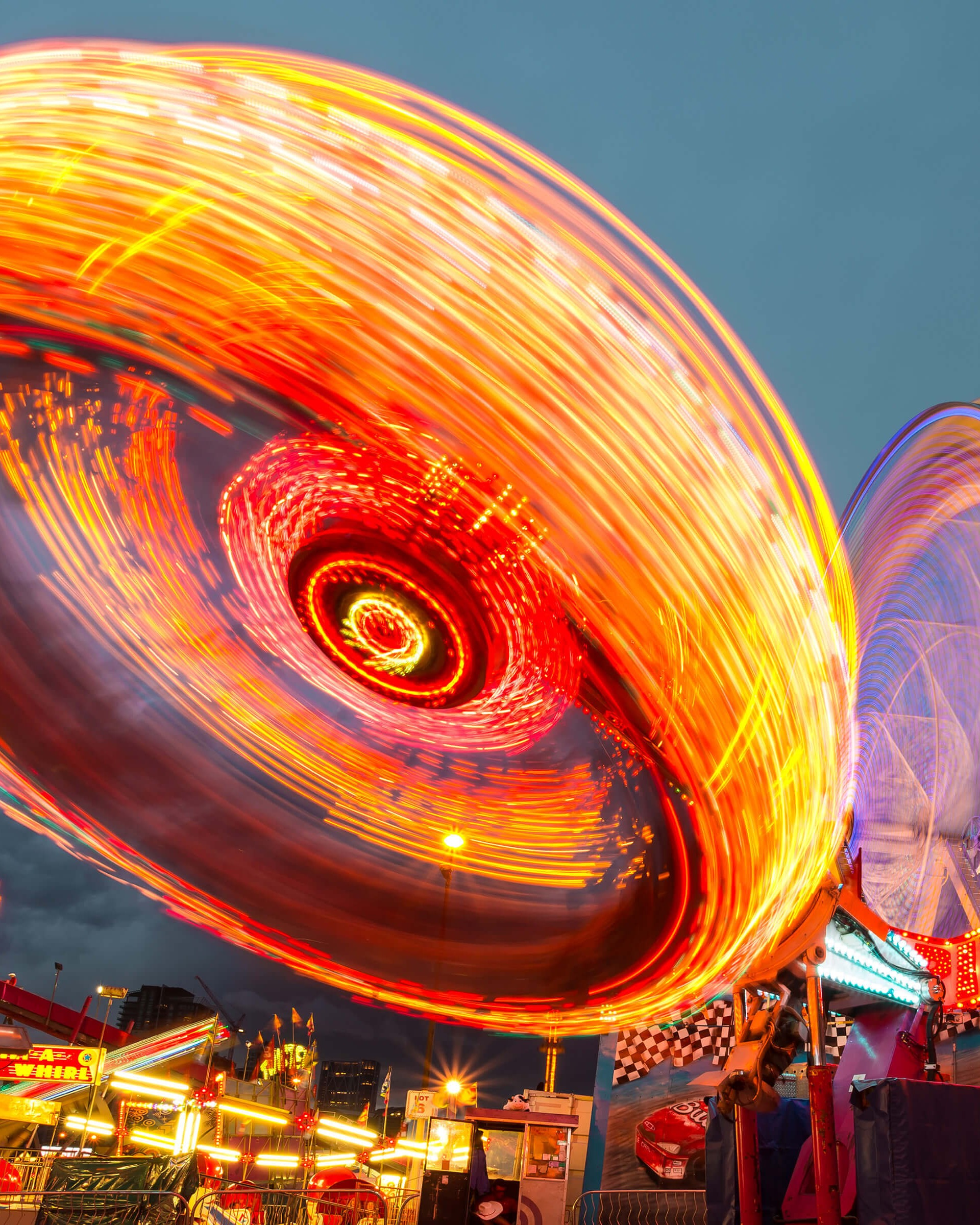 Calgary Stampede Lights HD wallpaper for Nexus 7   HDwallpapersnet 1920x2400