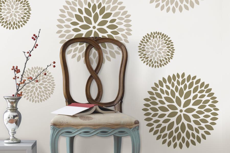 Temporary Wallpaper Design Ideas HGTV Design Blog Design Happens 900x600