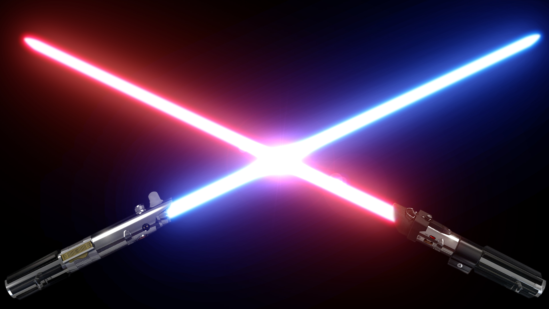 vader lightsaber luke skywalker lightsaber Star Wars Lightsabers 1920x1080