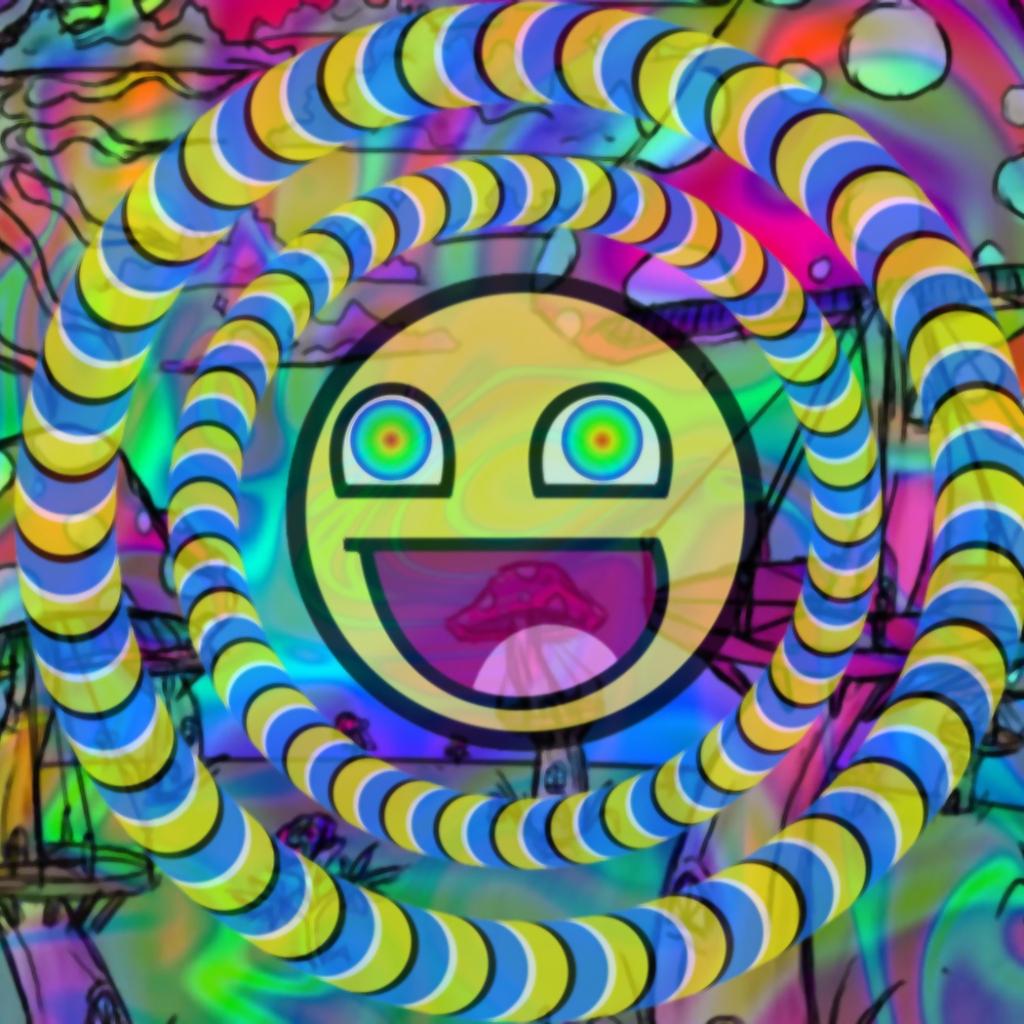 acid trip phone wallpaper by roozter81 1024x1024