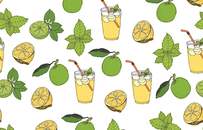 Wallpaper background vector texture pattern lemonade images 1332x850