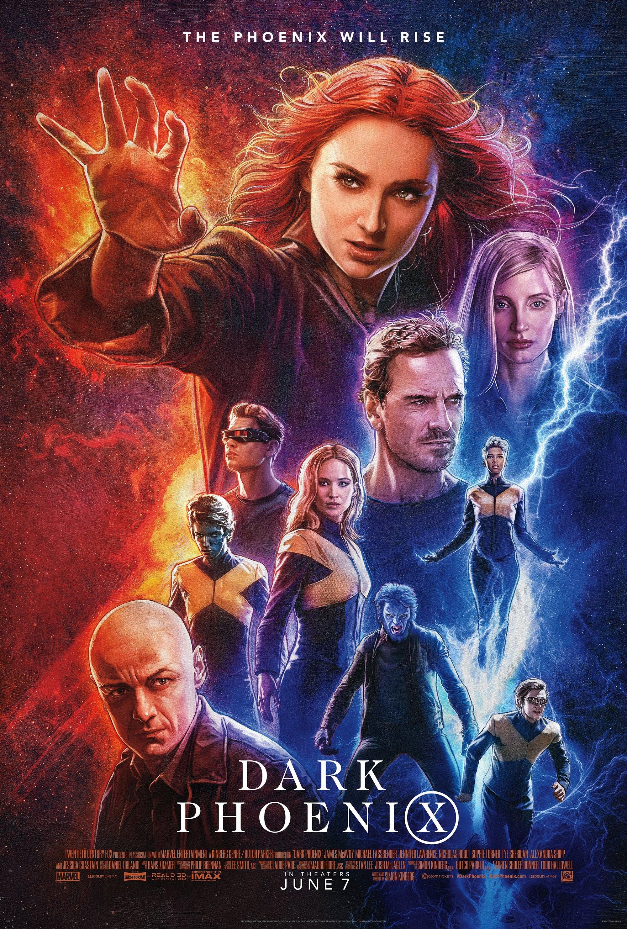 X Men Dark Phoenix X Men Movies Wiki Fandom 2000x2963