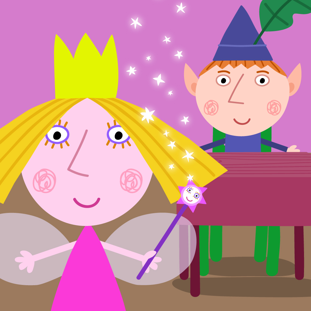 Ben and holly wall stickers yankov ben and holly wallpaper wallpapersafari amipublicfo Images