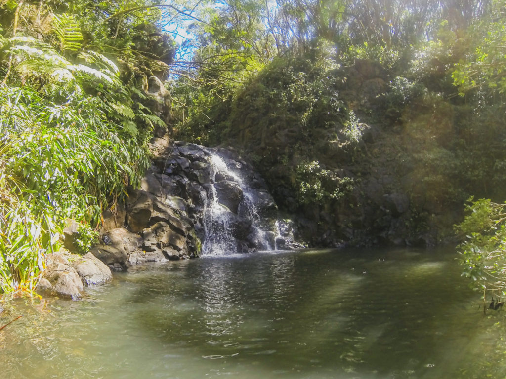 Kalihi Ice Ponds   [NOW CLOSED] Hidden Waterfall Treasure Of Oahu 1024x768
