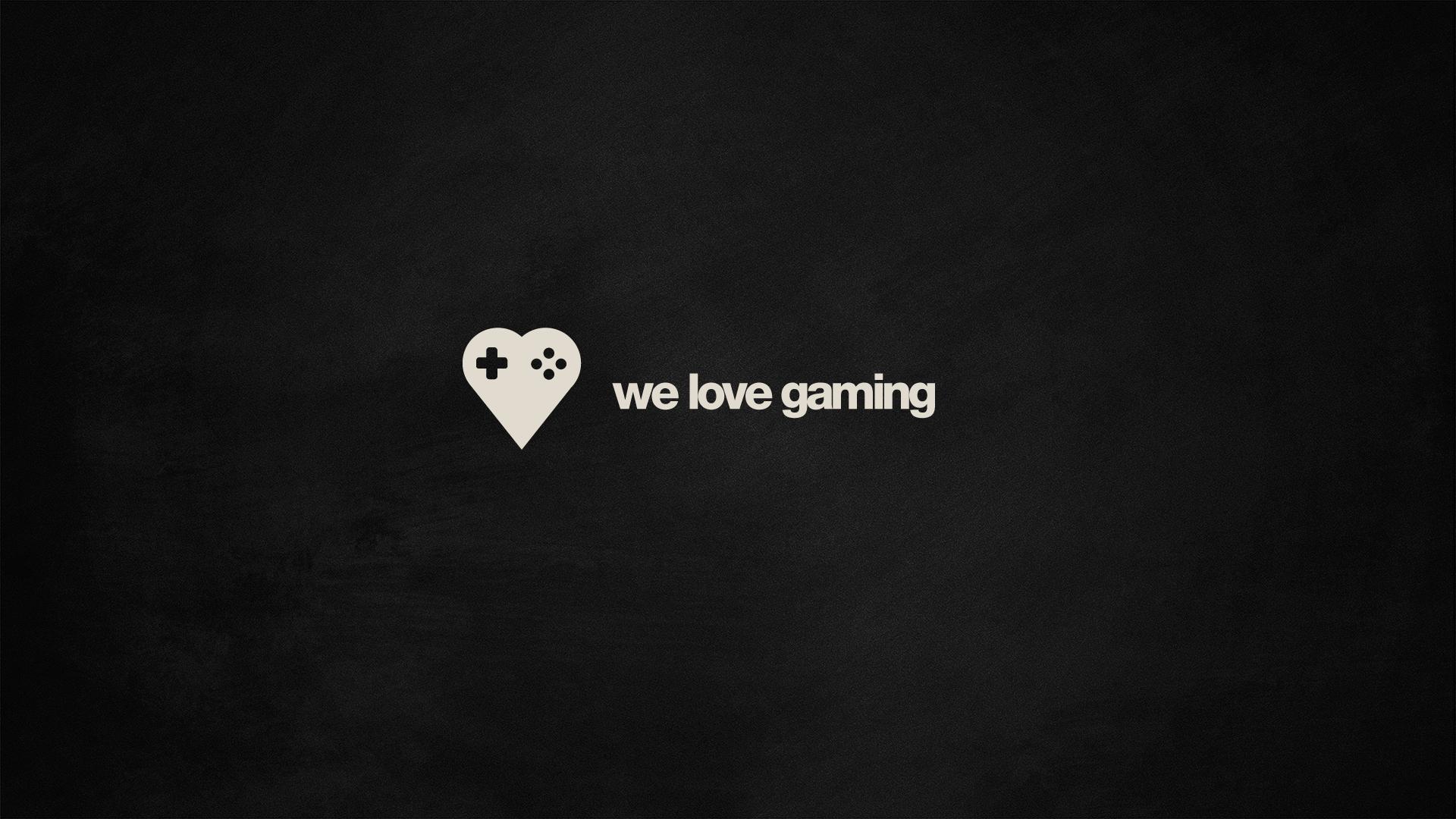 We Love Gaming wallpaper 149204 1920x1080