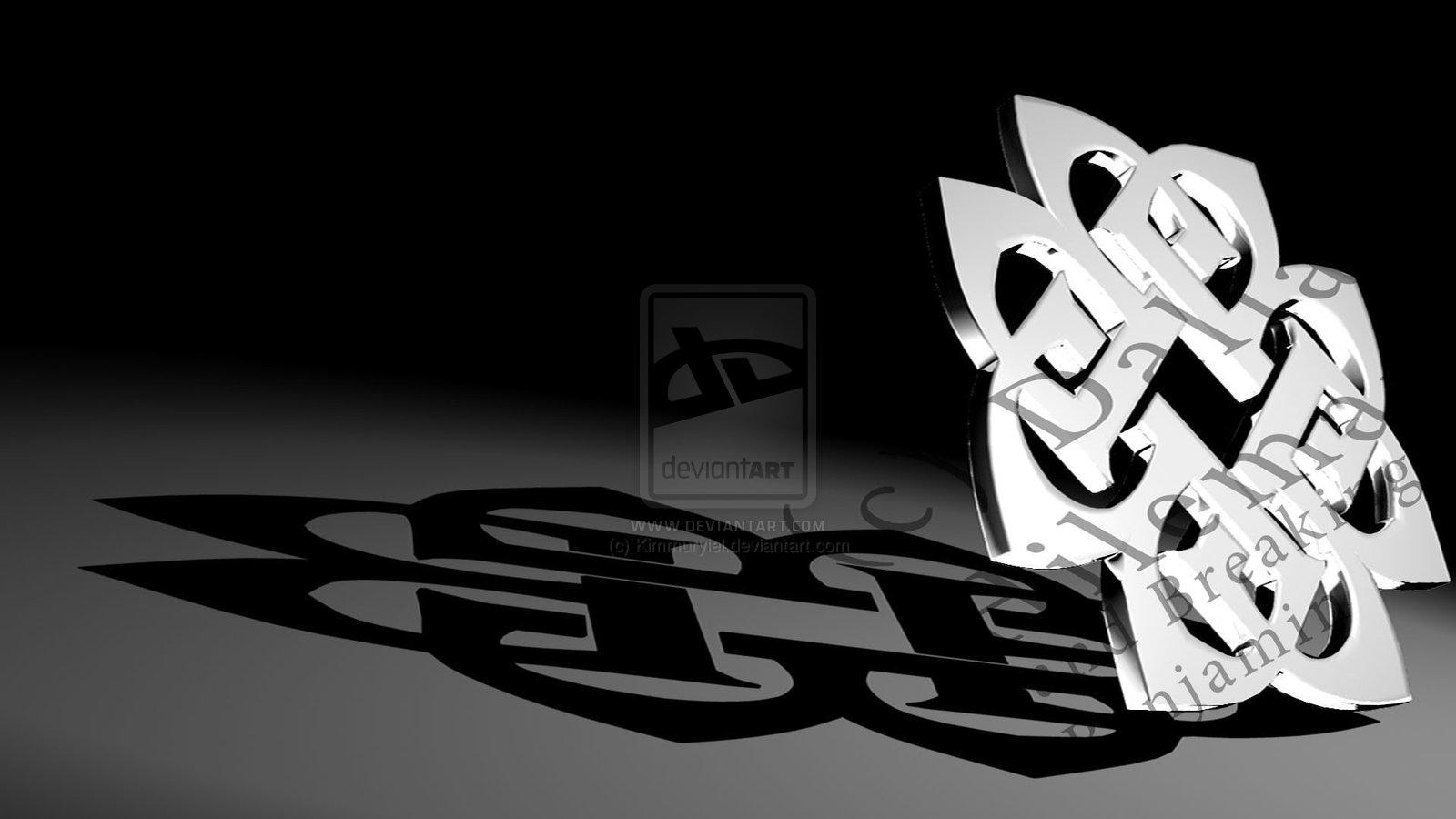 3D Breaking Benjamin Logo by Kimmuryiel 1600x900