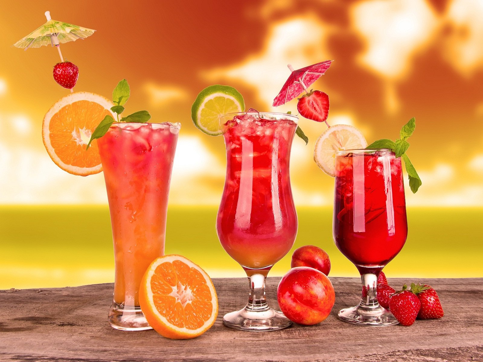 Best fruits juice glass HD Wallpapers Rocks 1600x1200
