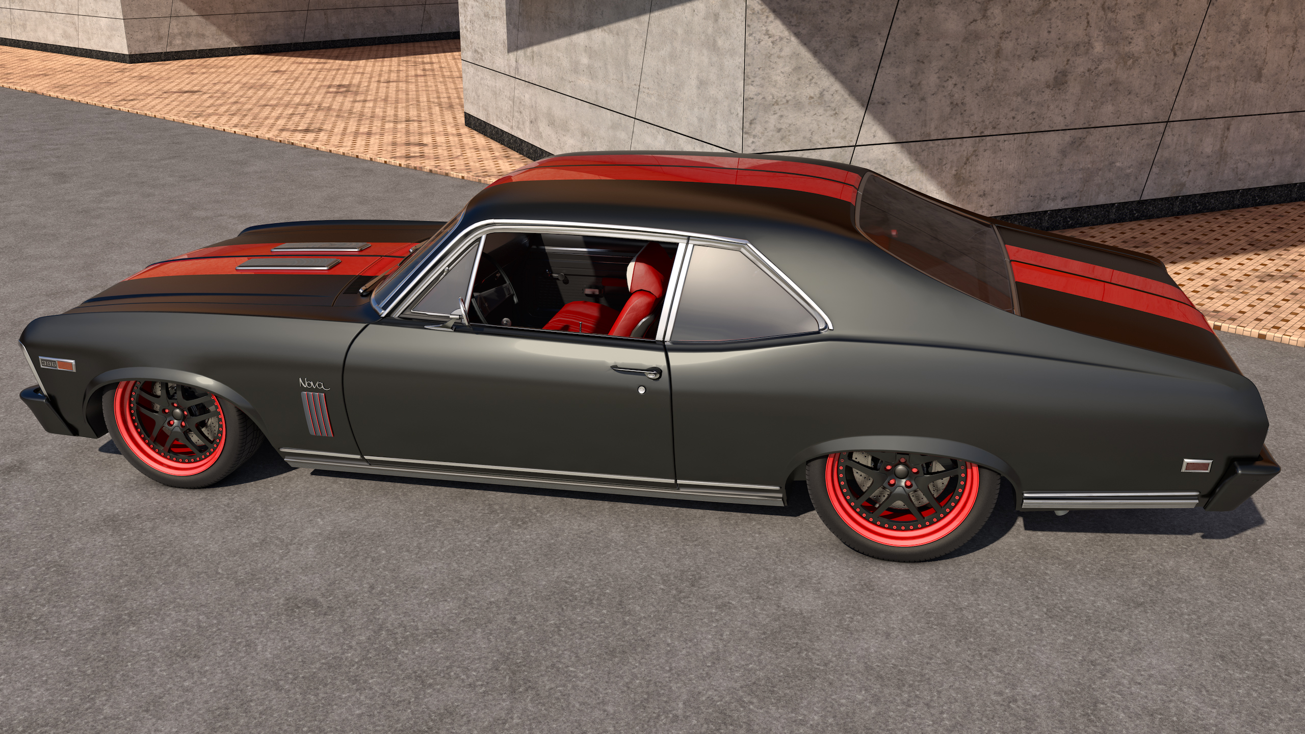 1969 chevy nova ss by samcurry on deviantart