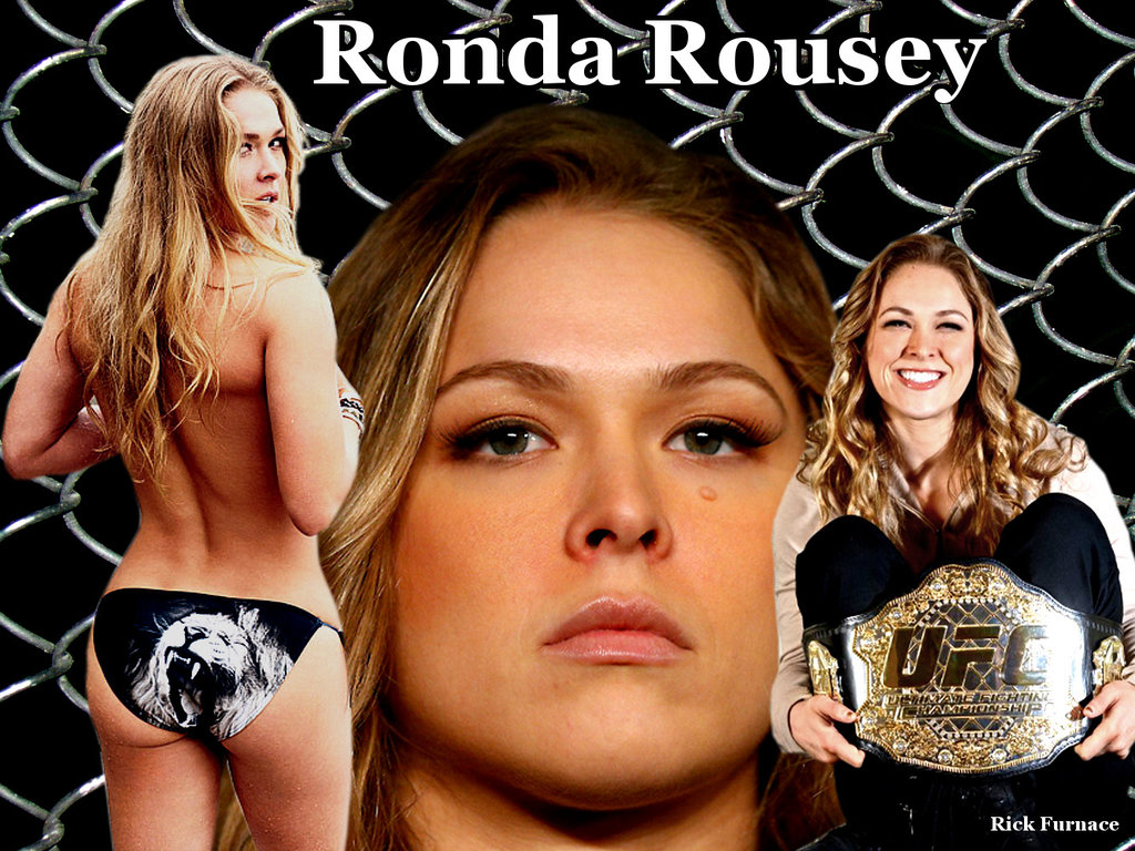 Ronda Rousey Strikeforce and UFC BantumweightChamp by rick7777 on 1024x768