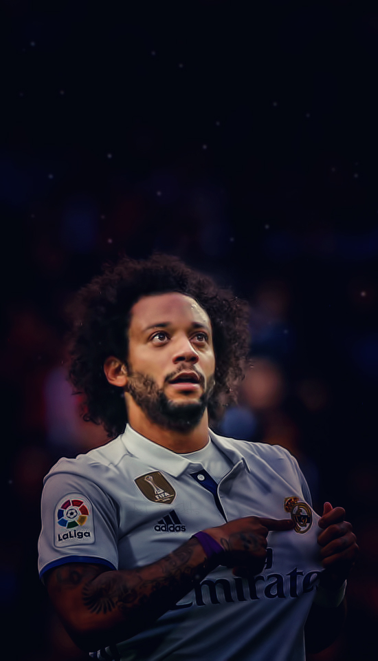 Marcelo Vieira Real Madrid iPhone Wallpaper by adi 149 550x960