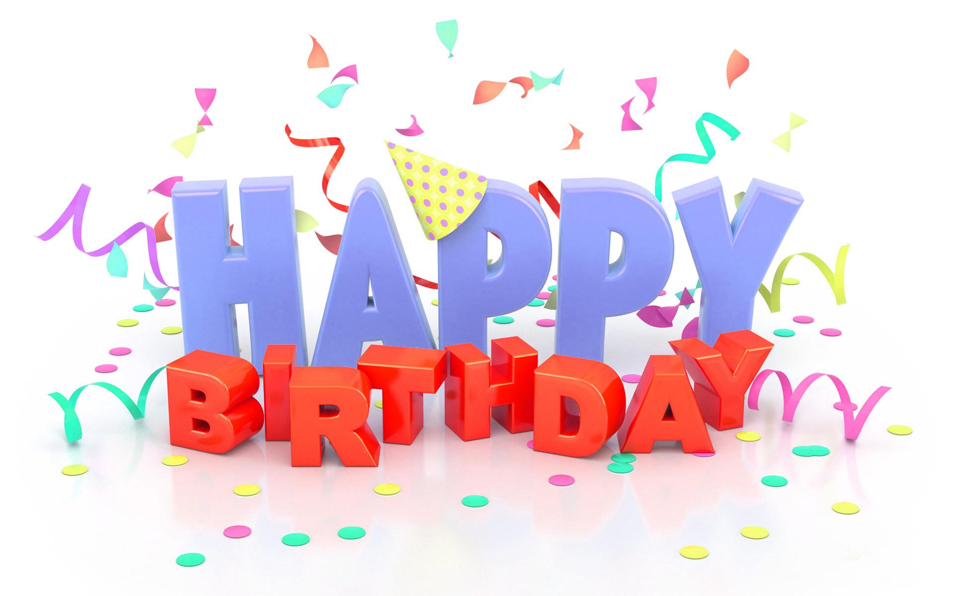 Birthday Wallpapers High Quality HD   101 Happy Birthday 1920x1200