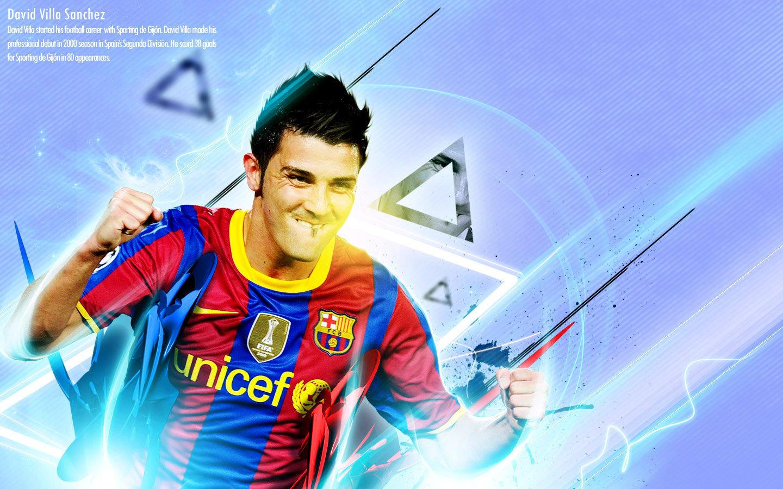 David Villa FC Barcelona Wallpaper   David Villa Wallpaper 22594978 1440x900