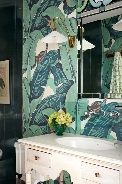 Martinique Wallpaper Bathroom Ideas houseandgardencouk 426x639