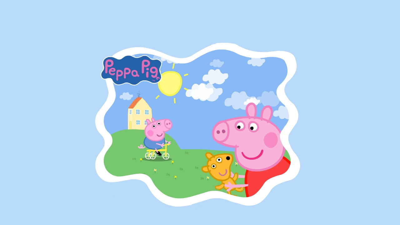 Peppa Pig   Peppa Pig Wallpaper 1280x720 57152 1280x720