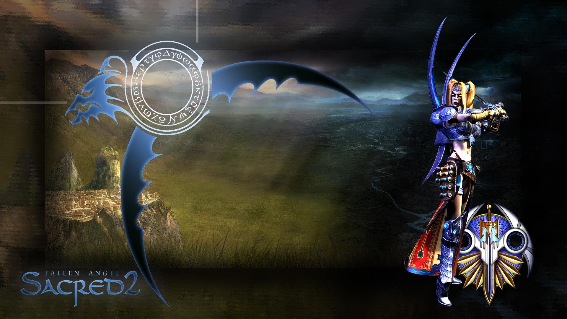Sacred 2 Seraphim PS3 Theme HD by BioDio 1920x1080