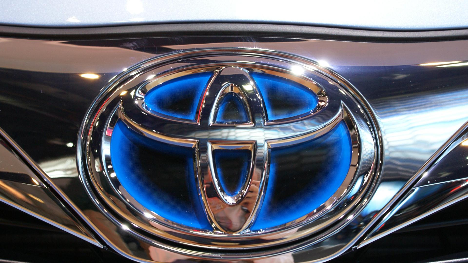 Most Beautiful Toyota Logo Wallpaper Full HD Pictures 1920x1080