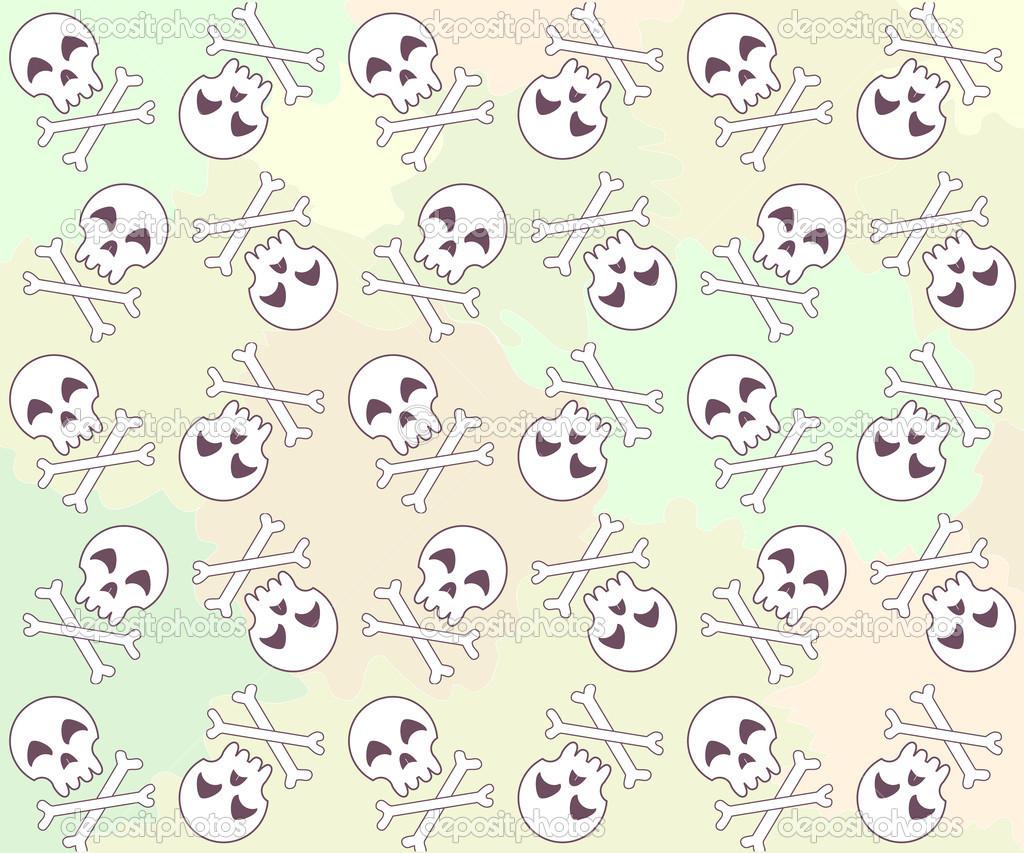 Cute Skeleton Wallpaper Wallpapersafari