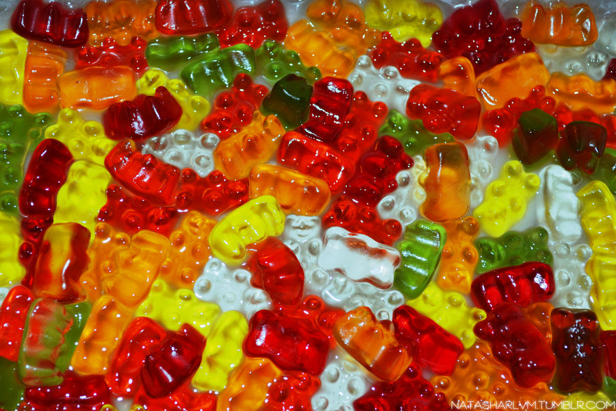 Free Download Gummy Bears Wallpapers Gummy Bears Swimming In