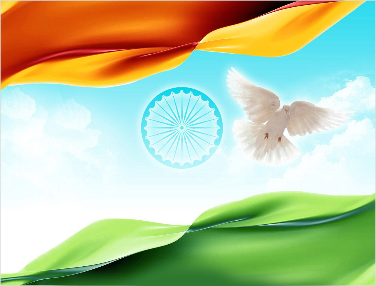 Independence Day Clipart Incredible India   15 August Independence 1280x975