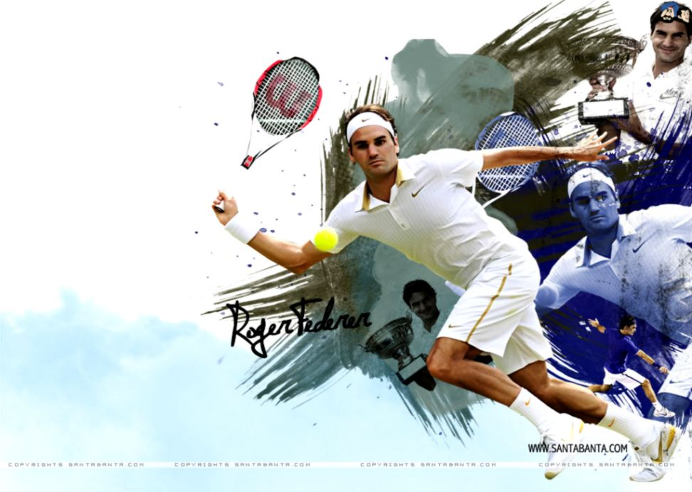 Roger Federer Wallpaper Hd Wallpapers Image 972x691