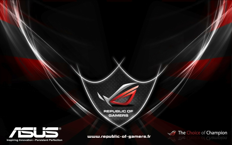 asus rog republic of gamers 1600x1000 wallpaper Technology Asus HD 800x500