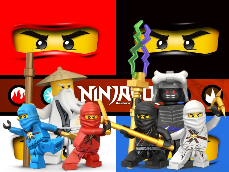 Lego Ninjago Wallpaper by ArtifyPics 800x600